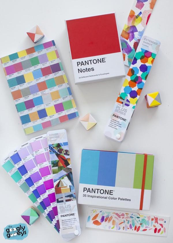 Pantone Notebook Fan Color Palettes
