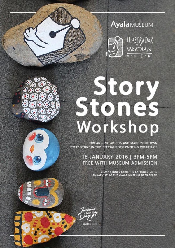Ayala Museum Story Stones Workshop