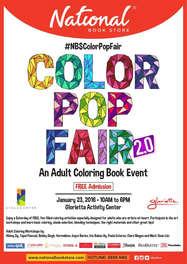 National Bookstore Color Pop Fair 2