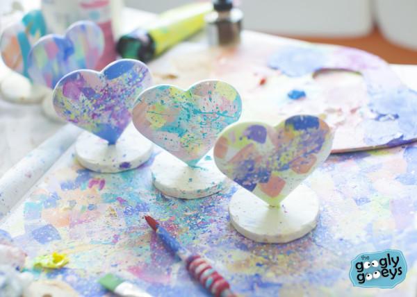 Tiny Abstract Hearts