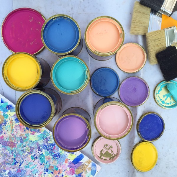 Pastel Outdoor Paint
