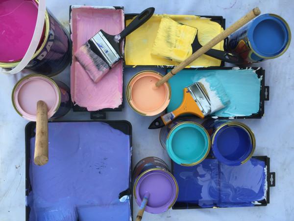 Pastel Latex Paint