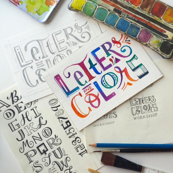 Letters & Colors (upright)