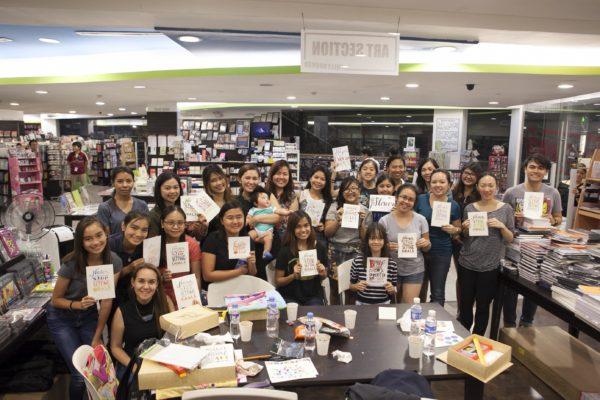 Letters & Colors Workshop Participant
