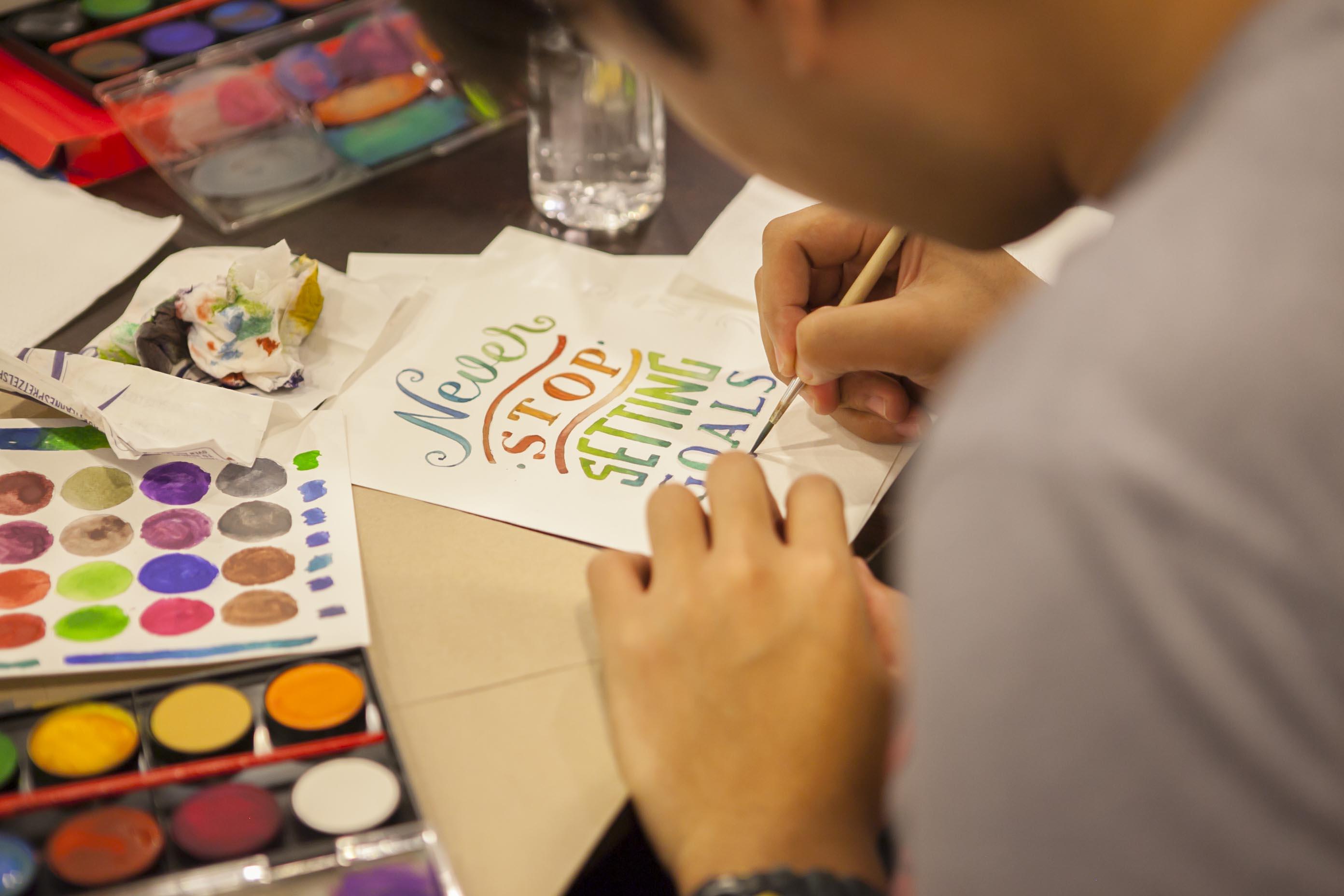 Letters & Colors Workshop