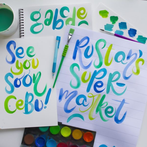 Cebu Brush Lettering Workshop