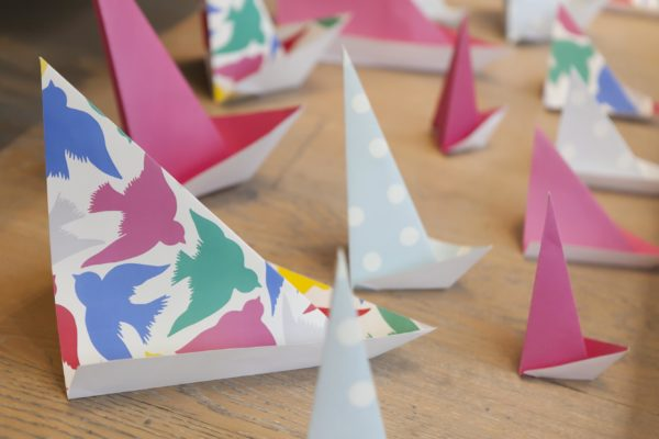 Cath Kidston Paper Boats