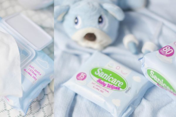 Sanicare Baby Wipes