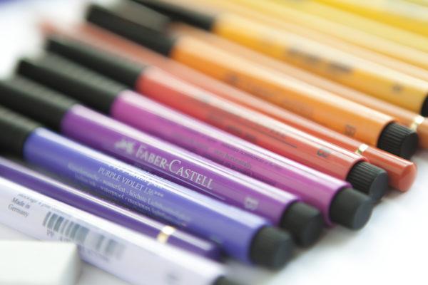 14 Faber-Castell Pitt Pens IMG_9815