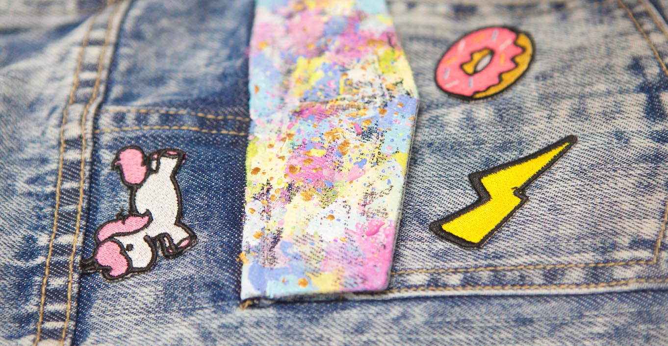 How To Paint On Your Denim Googly Gooeys Watercolor