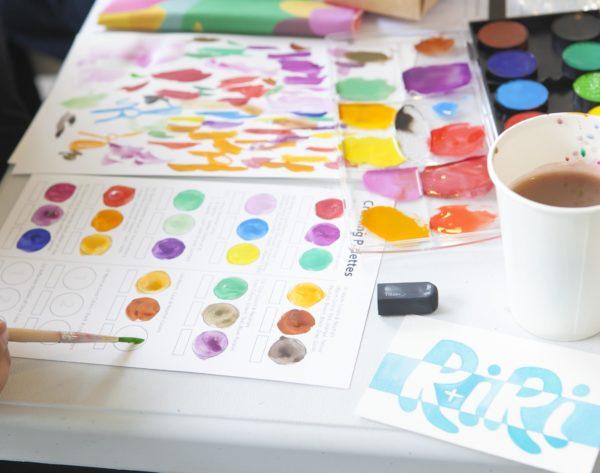 Letters & Colors Palette Building