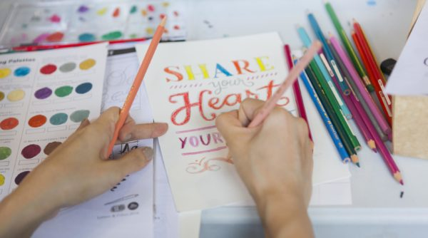 Share Your Heart with Your Art