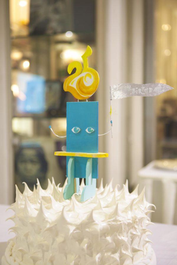 Ilustrador ng Kabataan 25th Anniversary Cake