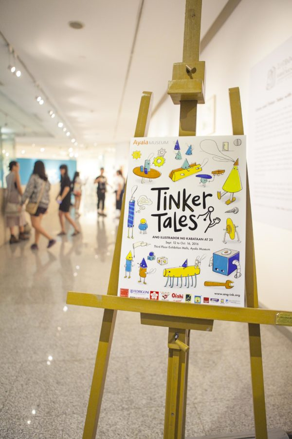 INK Tinker Tales Ayala Museum