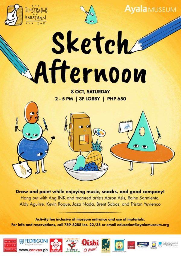 Ayala Museum Sketch Afternoon