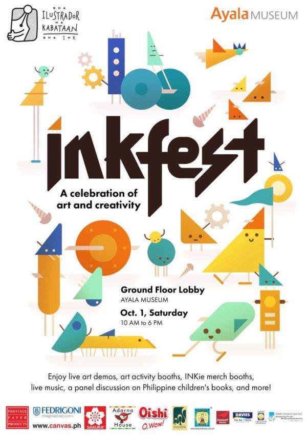 INK Fest October 1 Ayala Museum