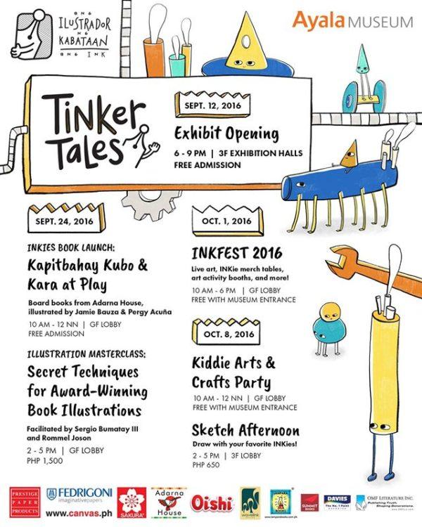 INK Ayala Museum Tinker Tales