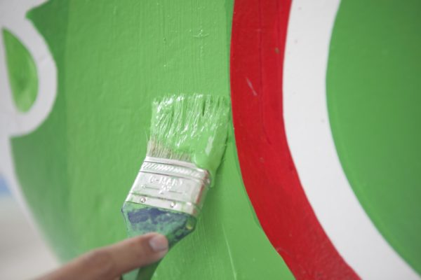 Green Paint Serendra
