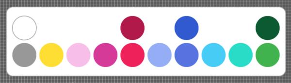 Serendra Color Palette