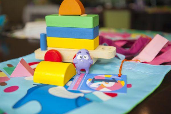 Riley's First Birthday Wooden Blocks