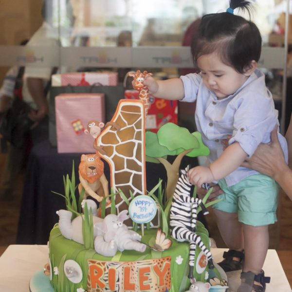 Riley's First Birthday Giraffe