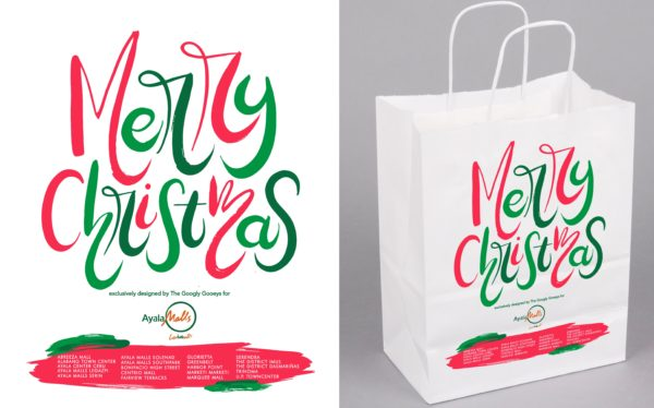 Ayala Malls Christmas PaperBag Merry Christmas