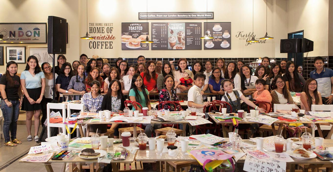 Brush Lettering Workshop with Globe