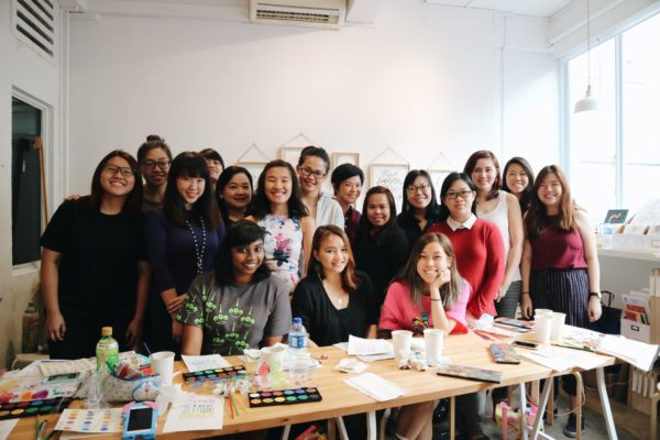 Letters & Colors Workshop Singapore
