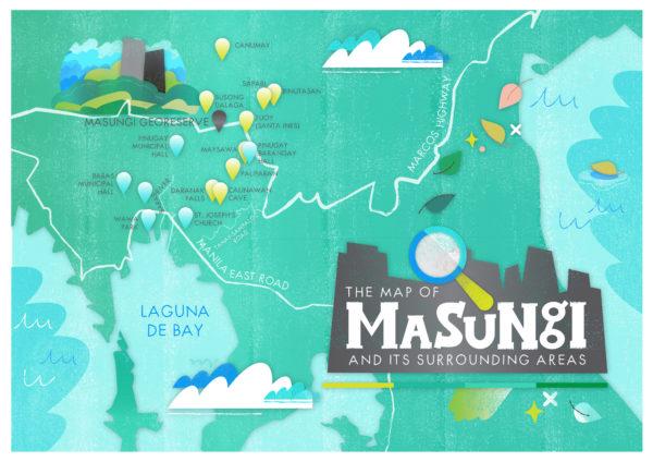 Map of Masungi