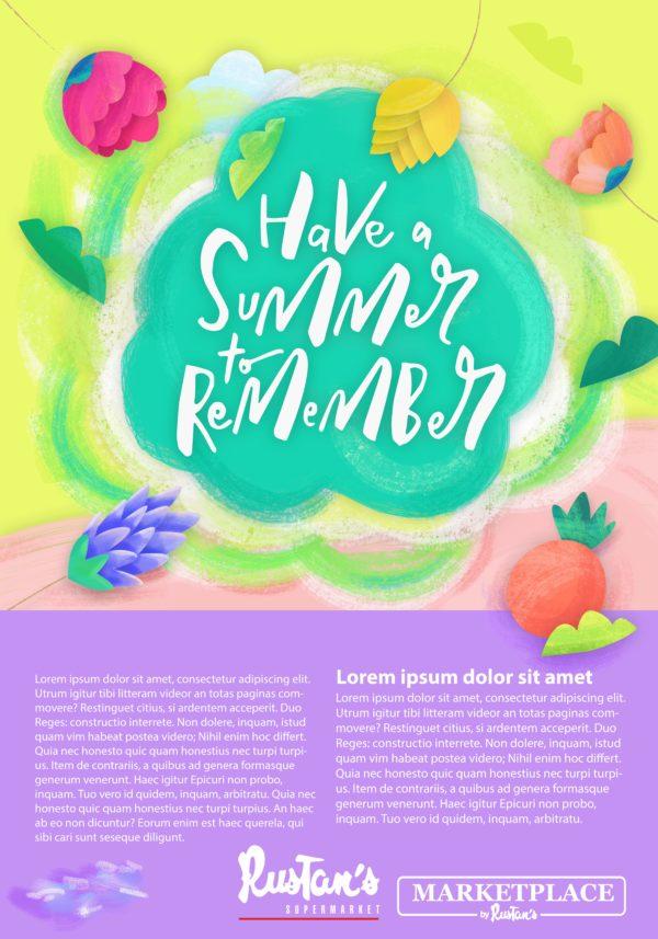 Rustan's Supermarket Poster