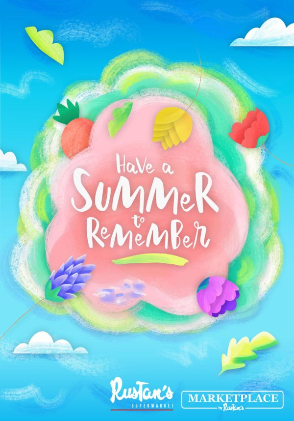 Rustan's Summer Poster Have a Summer to Remember