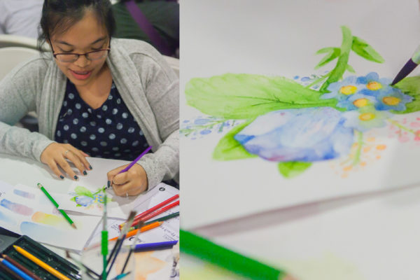 Watercolor Floral Workshop Fully Booked Faber-Castell