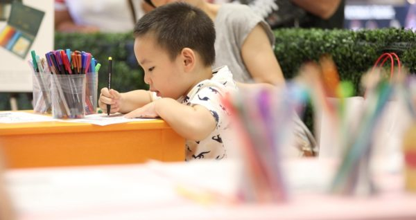 SM Art Fest Child Drawing