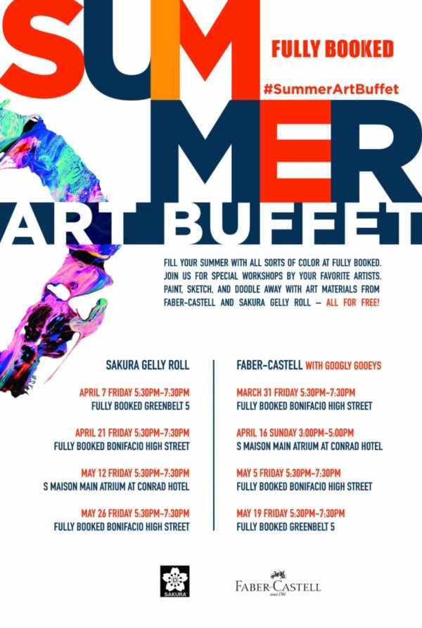 Summer Art Buffet