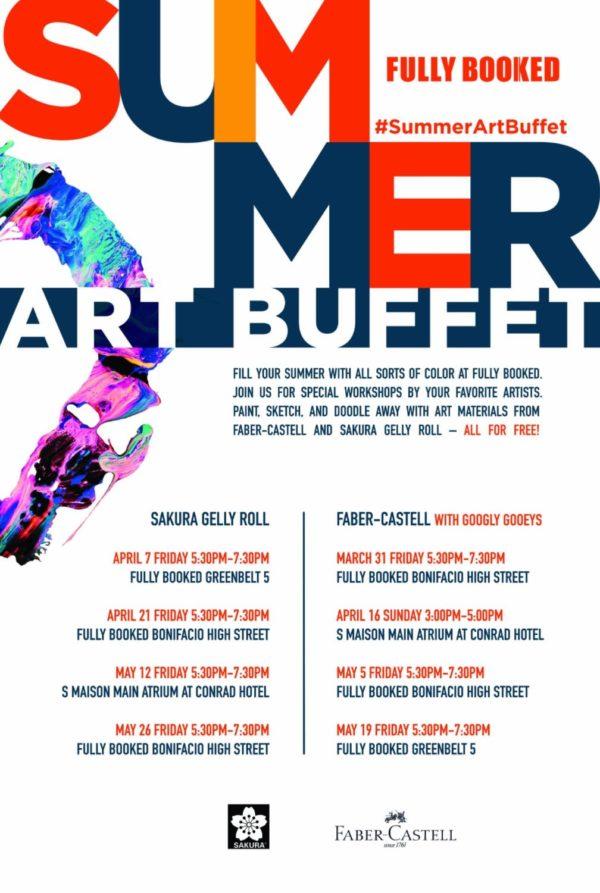 Summer Art Buffet