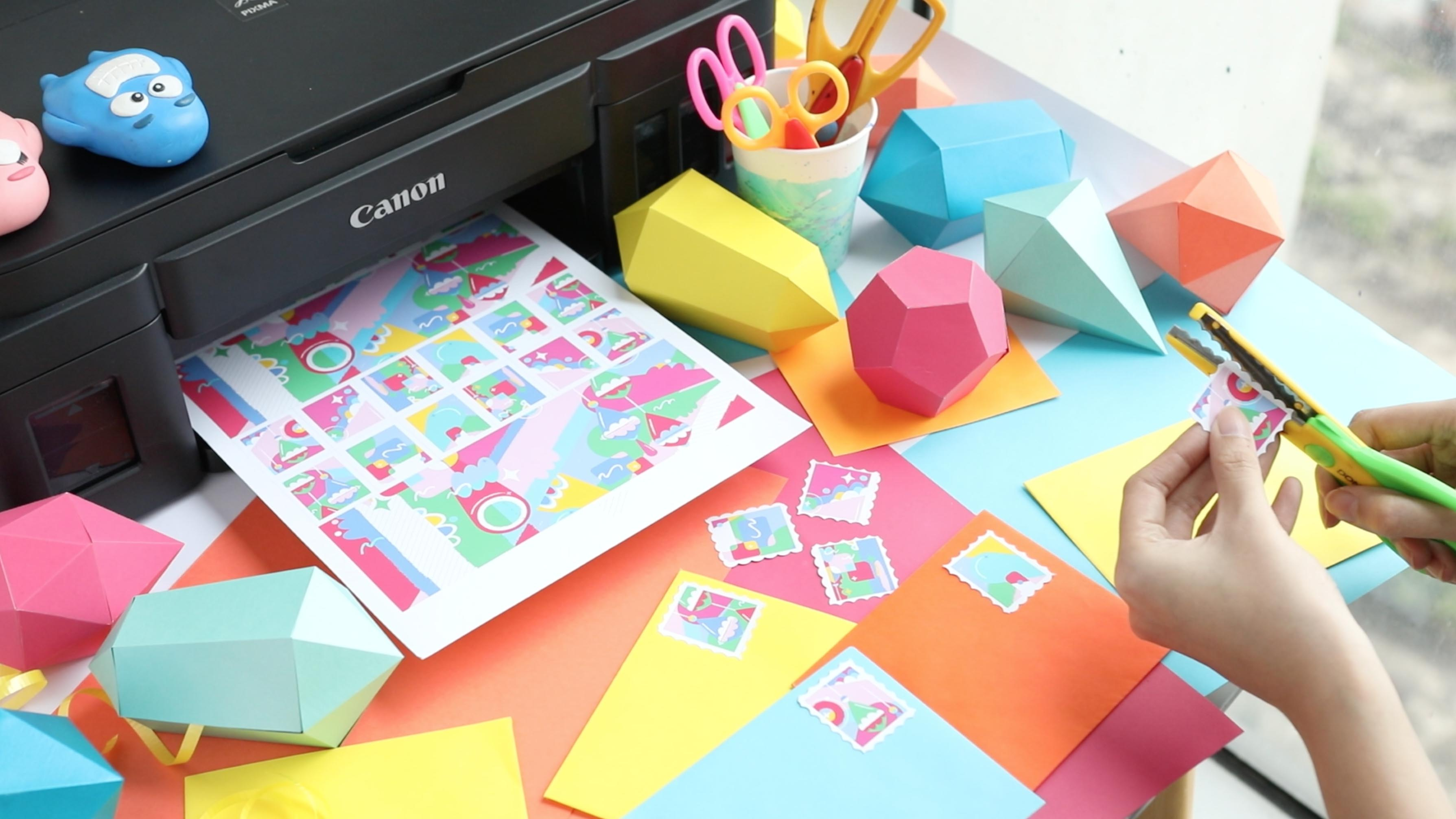 5 arts and crafts projects you can do with your printer googly i realized theres more to your printer than just producing the usual school and office documents or photos of you and your crush laughs in my case jeuxipadfo Images