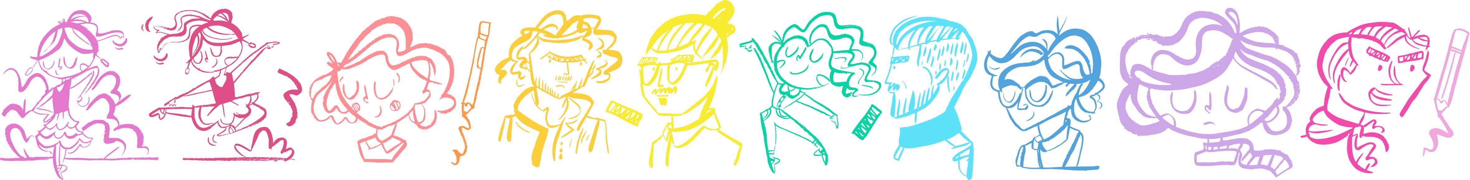 Googly Gooeys Doodles