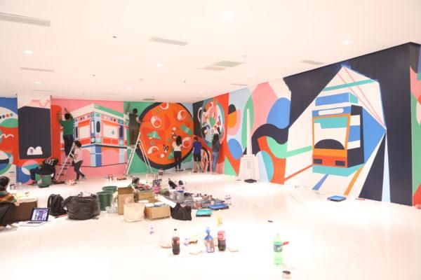 Ayala Malls Cloverleaf Mural Walls 3 & 4 Balintawak