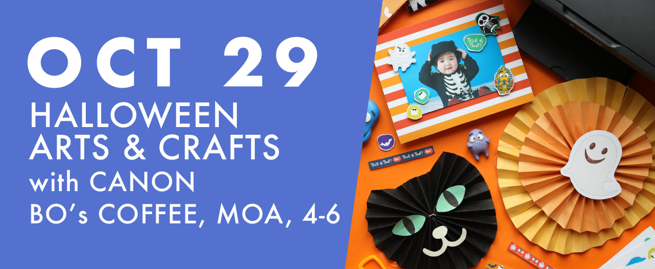 October 29 Halloween Arts & Crafts with Canon