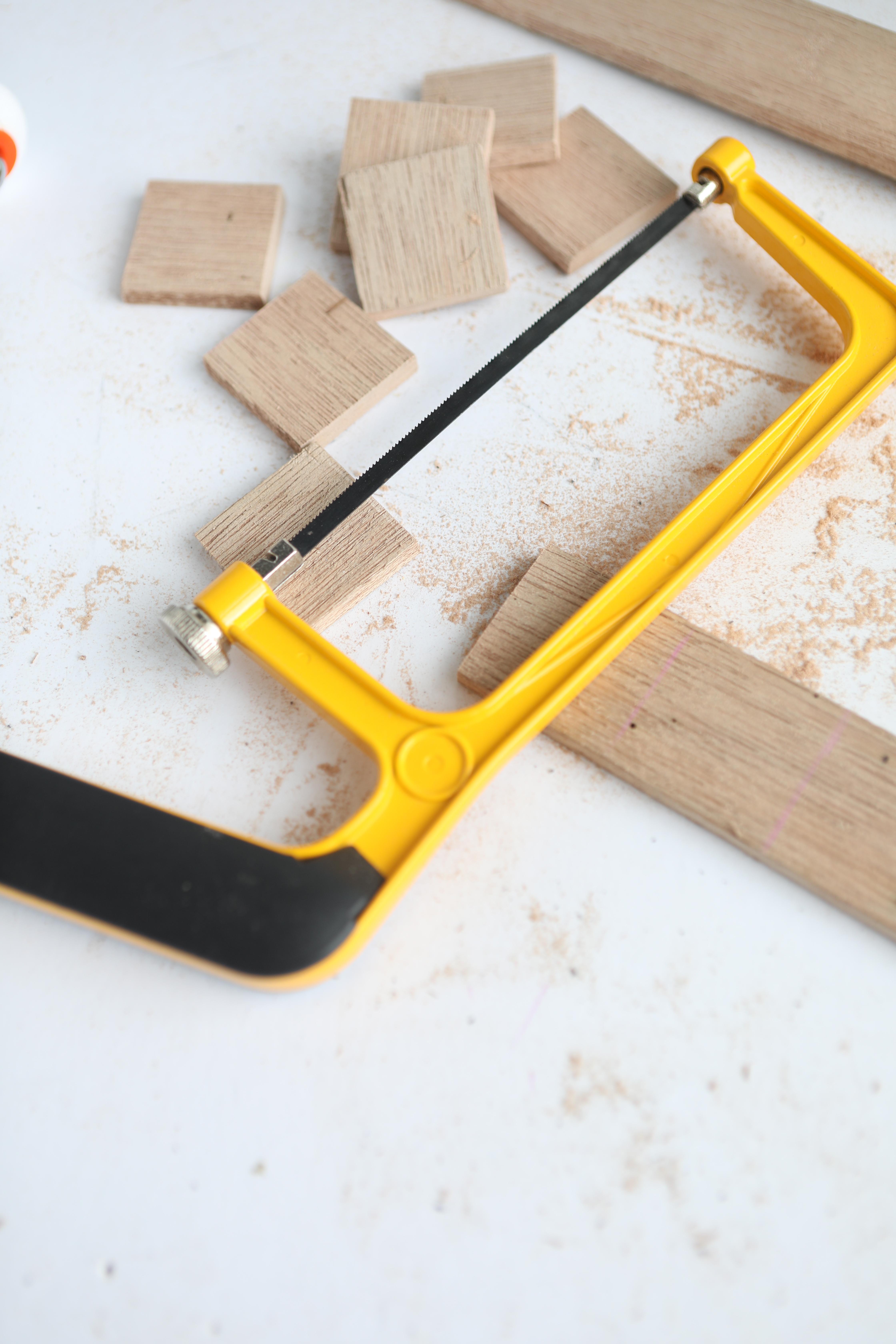 DIY Chalkboard and Craft Organizer Cut2