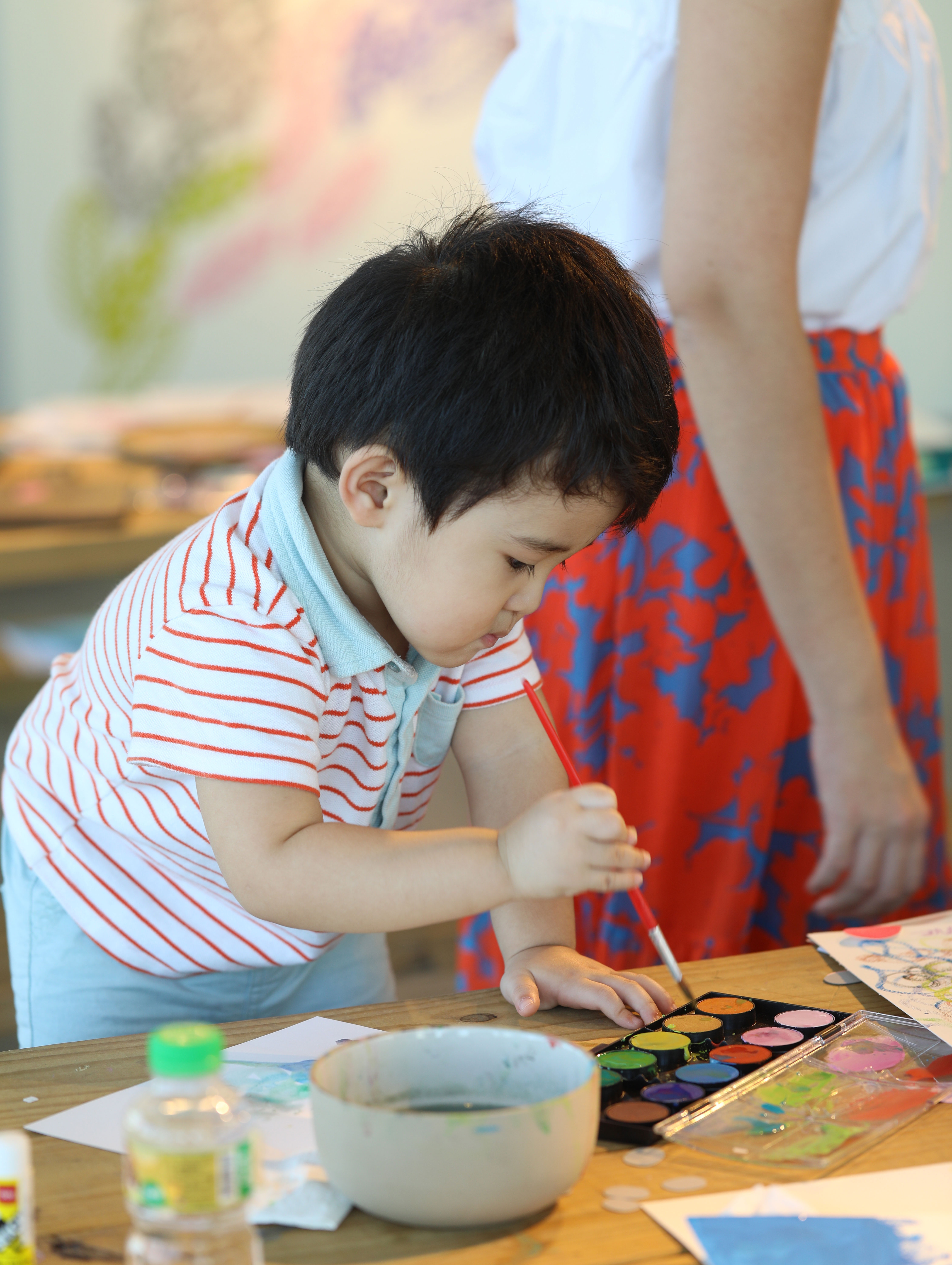 Watercolor and Arts Workshop with H&M Kids | The Googly Gooeys