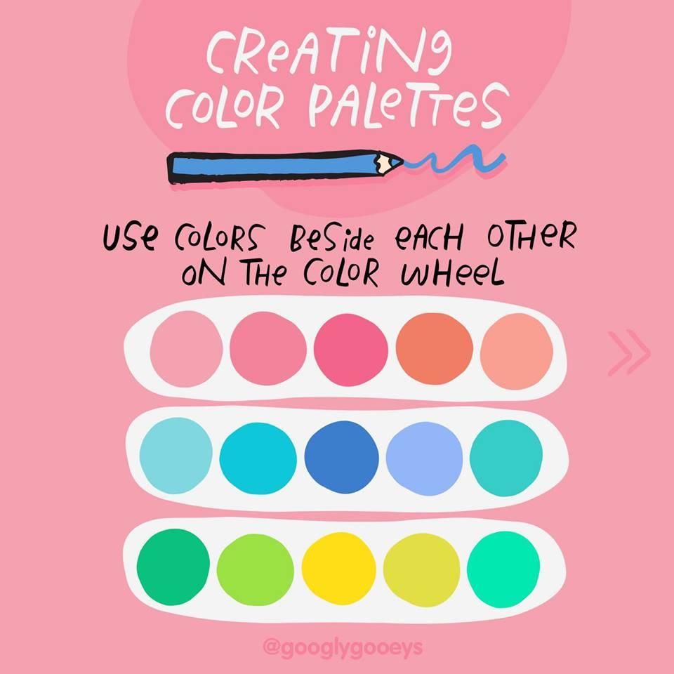 How To Pick A Palette For Your Creative Work Googly Gooeys