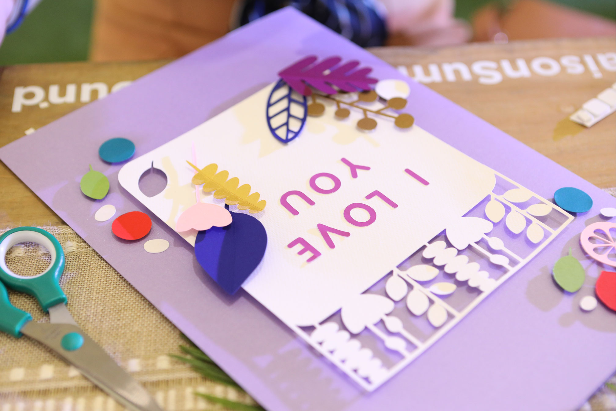 craft buffet and card making workshop with s maison googly gooeys