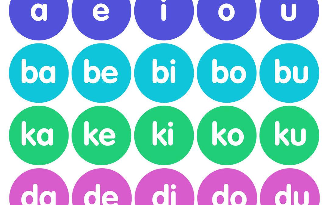 Free Printable: Filipino Syllables