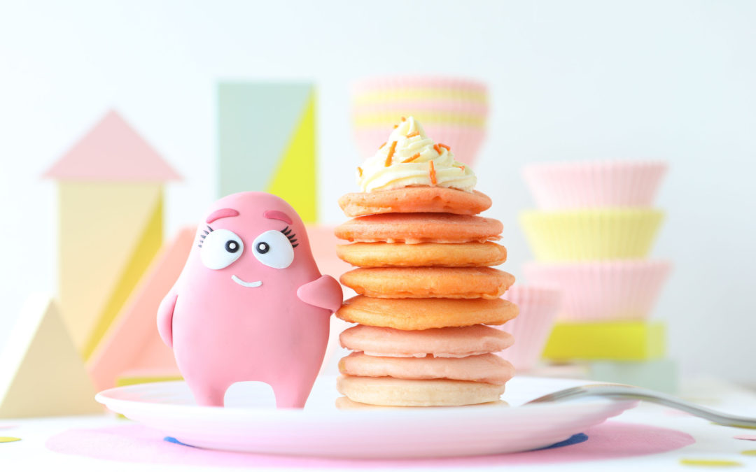 How to Make Ombre Hotcakes