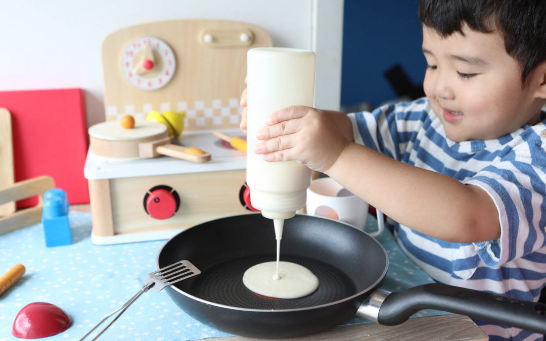 Cooking with Kids Easy Hotcake Recipe