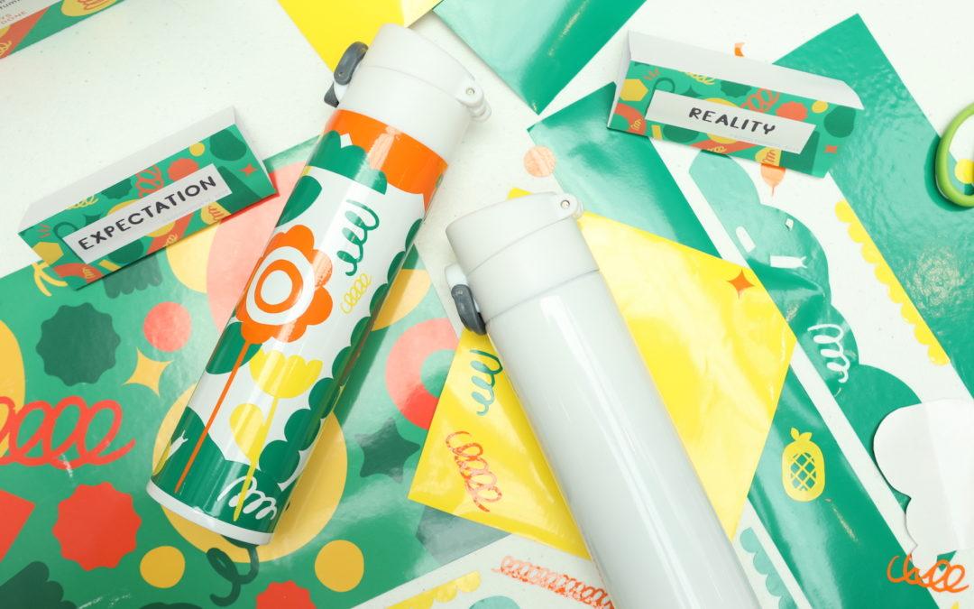 DIY Tumbler + Paint Your Pocket Organizer